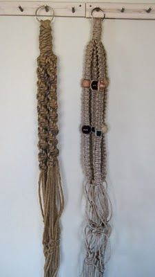 Macrame Plant Hangers patterns