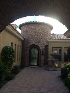 Lot 2 - Villaggio Toscano, Scottsdale, AZ - Home Design: Benjamin Scheier, I PLAN, LLC,  Home Builder: Jeff Labriola, Bel-Aire Construction