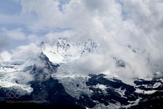 Clouds over Alps by peeeter 4reigndestinations.tumblr.com #Travel #Mountains