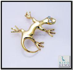 Animal Jewelry, Gold Pendant, Plating, Fashion Jewelry, Gems, Brooch, Animals, Brooch Pin, Animais