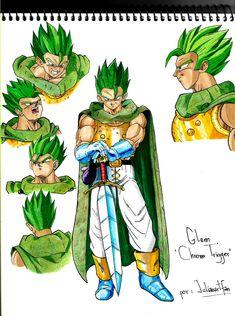 Glenn Chrono Trigger by Julianartfan on DeviantArt Chrono Trigger, Dragon Ball Z, Bardock Super Saiyan, Manga Anime, Character Art, Character Design, Gogeta And Vegito, Ball Drawing, Super Anime