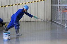 Piso Epóxi, piso industrial aplicado pela Pearl Do Brasil.