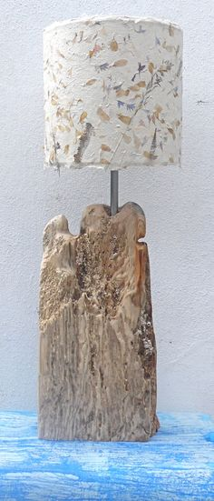 Driftwood lamp. Judy Clayton.