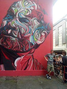 Shaka New Mural In Mulhouse, France StreetArtNews