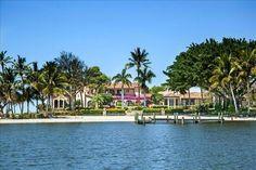 Ponen a la venta una isla con mansión en Florida por 24,5 millones de dólares