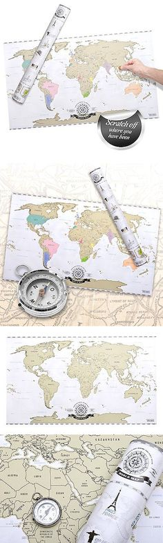 Other travel maps 164807 scratch off world map world travel other travel maps 164807 scratch off world map deluxe personalized travel map poster xxl gumiabroncs Image collections