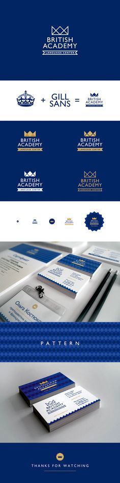 British Academy. Language Center on Behance