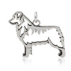 Australian Shepard Body- Pendant $32.45  The Australian Shepard pendant displays the breed in a strong stance. This hard working dog, usuall...