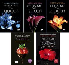 Românticos e Eróticos  Book: Megan Maxwell - Peça-me o que Quiser #1 a #4