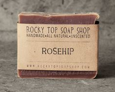 rosehip soap for happy skin