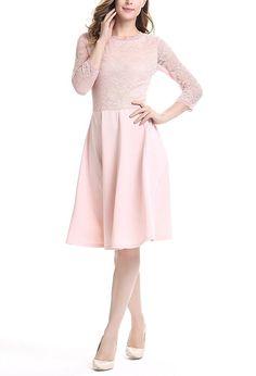 u8vision de la mujer elegante encaje vestido midi vintage 50año de vestido de fiesta vestido de dama de honor de boda talla S-4x l: Amazon.es: Ropa y accesorios