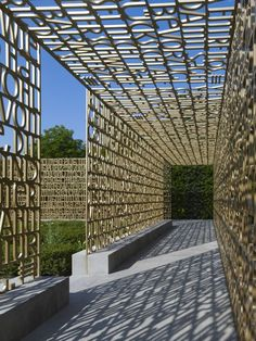 The Written Garden 'Gardens of the World' - Marianne Mommsen & Gero Heck, Berlin