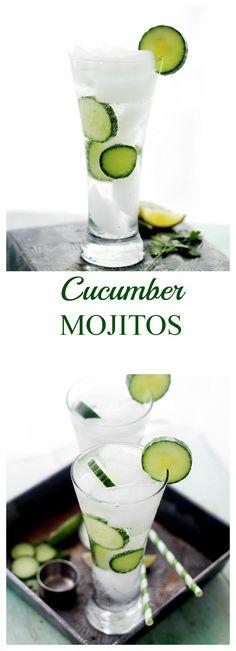 Cucumber Mojito    Pinterest @ kikilbc ❤️