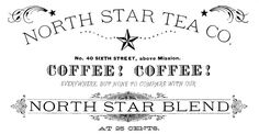 Tea Company Logo Transfer Printable! - The Graphics Fairy