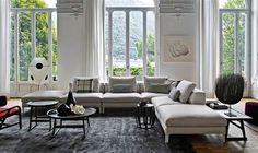 Sofa: DIVES - Collection: Maxalto - Design: Antonio Citterio