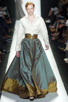 Bill Blass---proportions all wrong, but that skirt.