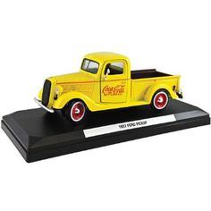 Amazon.com : 1937 Ford Coke Delivery Truck Die Cast 1:24 Scale ...