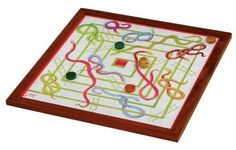 """17"""" INDOOR SNAKES & LADDERS by Jaques of London, http://www.amazon.co.uk/dp/B001L1KE3K/ref=cm_sw_r_pi_dp_IV3wsb0JMGBDX"""