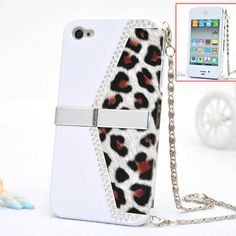 $19.99   Cool Leopard Grain Handbag Case Cover for Iphone 4/4s/5    1.Size:Perfect fit. 2.Accessory only. Phone not included. 3.Precisely cut openings to allow full access to all the functions of your phone.