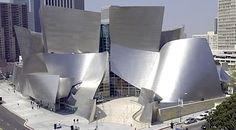 Frank Gehry design - Disney Concert Hall, Los Angeles