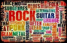 Picture of Rock Music Poster Art as Grunge Background stock photo, images and stock photography. Any Music, Sound Of Music, Live Music, Best Rock Music, Music Rock, Rock Band Logos, Rock Bands, Music Poster, Grunge