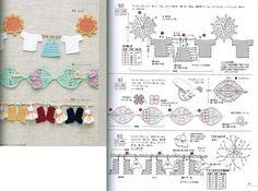 Häkeln Borte / crochet edging