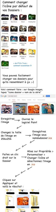 Comment Changer l'Icône des Dossiers sur votre Ordinateur.  Découvrez l'astuce ici :  http://www.comment-economiser.fr/comment-changer-icone-dossiers-sous-windows-et-mac.html?utm_content=buffer16ace&utm_medium=social&utm_source=pinterest.com&utm_campaign=buffer
