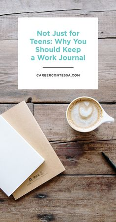 We love a cute journal or diary and here's why keeping a career journal can help you get ahead at the office. We've probably all fallen into this trap. We are so concerned with accomplishing the many tasks on our to-do lists that we forget to stop and look at the big picture. We forget to think about how we can go above and beyond, consider what we've accomplished, or even check in with how we're feeling at work. You need a work journal. | CareerContessa.com
