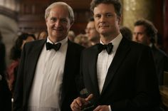 Jim Broadbent as Arthur Morrison and Colin Firth as Blake Morrison in Sony Pictures Classics' When Did You Last See Your Father? British Boys, British Actors, Colin Firth, Bridget Jones, Kingsman, Sports Stars, See You, You Are The Father, Movies