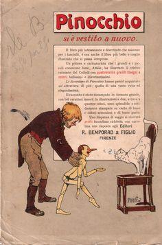Pinocchio- vintage book