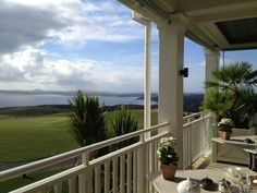 A guest snapped this shot while enjoying breakfast on the veranda. #Luxury #Breakfast #NewZealand