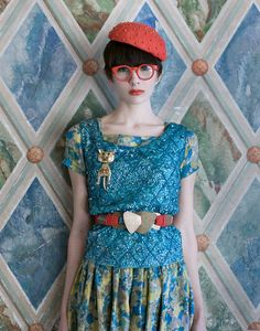Walk with me, Suzy Lee by Shae Acopian Detar #vintage