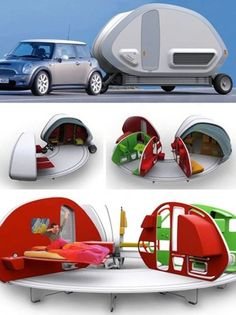 """Galleggiante o a """"capsula"""": ecco i camper del futuro"""