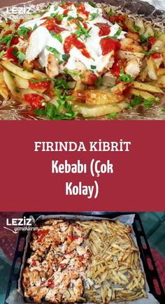 Fırında Kibrit Kebabı (Çok Kolay) Fish And Meat, Fish And Seafood, Turkish Recipes, Italian Recipes, Turkey Today, Turkish Sweets, Turkish Kitchen, Fresh Fruits And Vegetables, Seafood Dishes