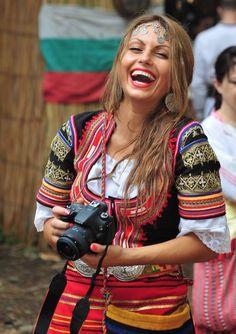 Monika Encheva - Photographer in Bulgarian costume [https://www.facebook.com/photo.php?fbid=10204868169567587; https://www.facebook.com/photo.php?fbid=10203696812688387]