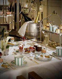 Tea at Claridge's, London