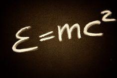 Mathematik-Formel, Albert Einstein