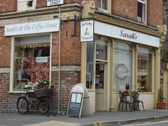 Welsh Coffee House. (Sarah's Deli and Coffee House in Beaumaris north Wales). I could live there.