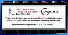 Every Tuesday we welcome you at Rouge Bordeaux for a special Terroirs wine discovery!  The good news is that not all tasting sessions are taken as seriously as you might think, and that the essential elements of tasting are easy to learn and will help you to learn about what kinds of wines you enjoy – or dislike – and why.  For more information call 01567 010 http://rpnlebanon.com/site/wine-tasting-at-rouge-bordeaux-2/