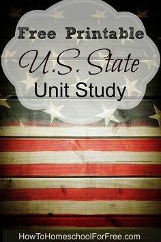 This is a wonderful FREE unit study on all of the U.S. States!