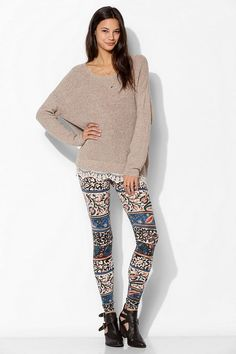 Truly Madly Deeply Talia Boho Floral Legging #urbanoutfitters