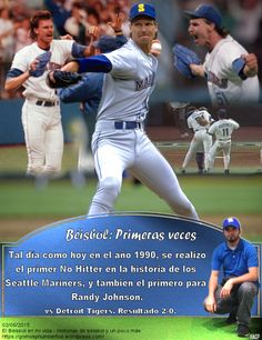 Randy Johnson, Seattle Mariners, No Hitter, MLB