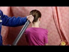 Dad Uses Vacuum to Give Daughter Perfect Ponytail, Advanced Method! - YouTube