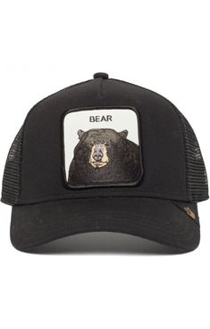 con Visera Verano//Invierno de Malla Beisbol Snapback Cap Snapback Stetson Gorra JBS-Bear Trucker Hombre
