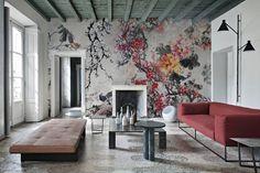 Vinyl wallpaper, EQ.Dekor glass fiber and Tela: new collection by Inkiostro Bianco