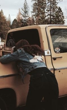 Emerald after driving a Muggle car for the first time, taken by a thankful-to-be-alive Alaric