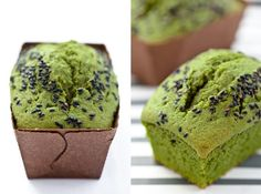 Cake with Mascarpone and Matcha ~ Click the link for the recipe (translated from Italian)