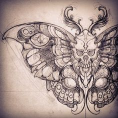 Love this instead of the regular butterflies idea to finish forearm