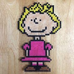 Sally - Peanuts perler beads  by myjsi000