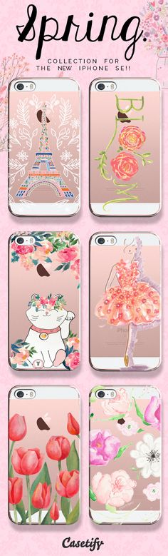 Take a look at our Spring collection for the new iPhone SE case | @casetify #phonecase